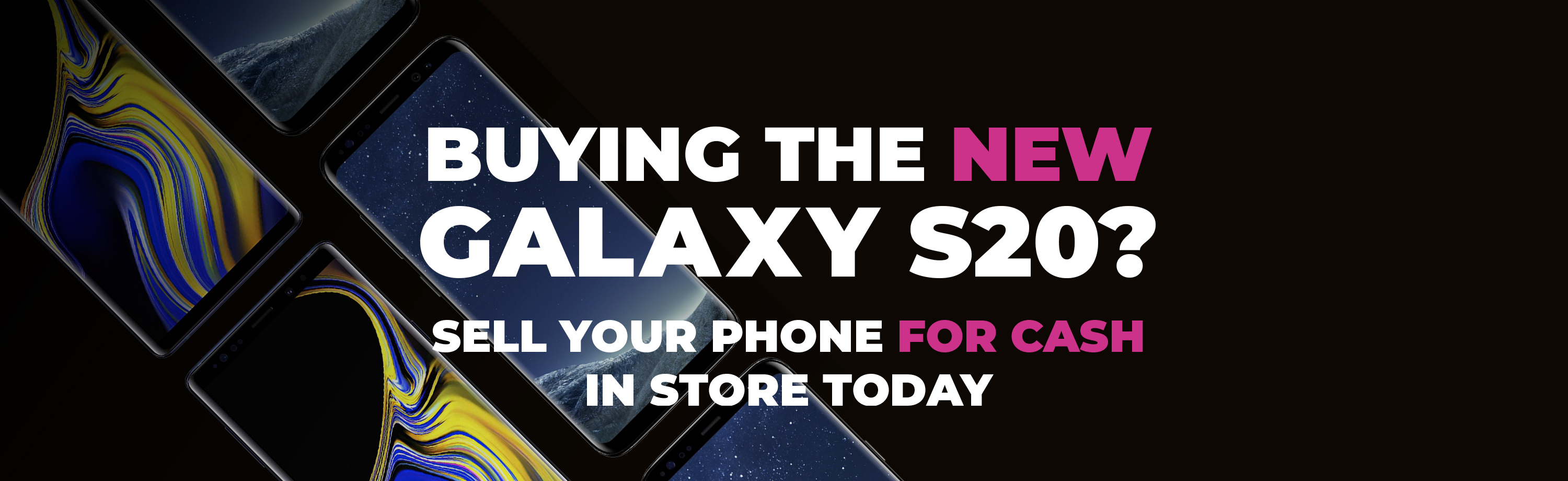 Buying the new Galaxy S20?
